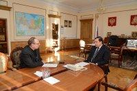 Ярцевскому журналисту удалось взять интервью у Губернатора Смоленской области