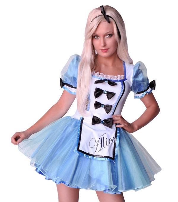 Платье Алиса В Стране Чудес Взрослое
