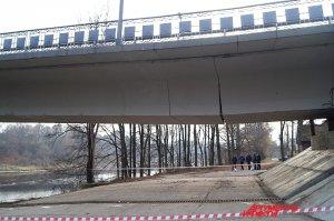 """Велижский мост пошел трещинами. Фото М. Ефимкина, """"АиФ-Смоленск"""""""