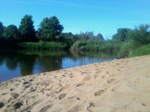 Места для купания ярцевчан. Литовский пляж