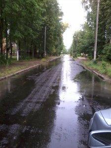 Новый асфальт на улице Братьев Шаршановых