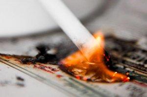 Сигарета уничтожает всё!