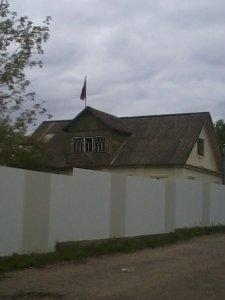 В Мушковичах власть отгородилась забором